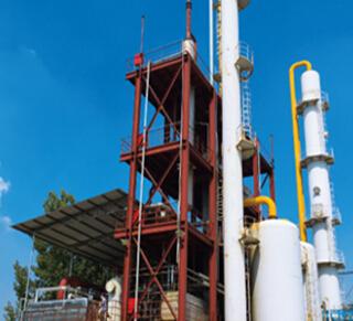 玻璃钢净化塔,用于电镀酸洗车间和其他生产工艺中的净化
